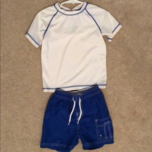Other - Boy's Swim Trunks and Rash Guard